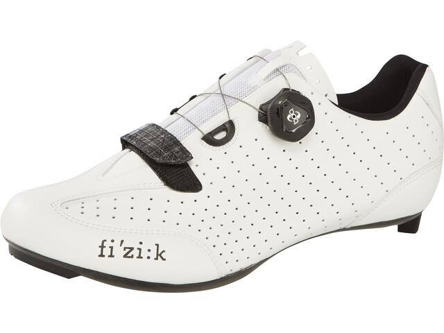 Fizik R3B Rennradschuhe Herren weiß/schwarz